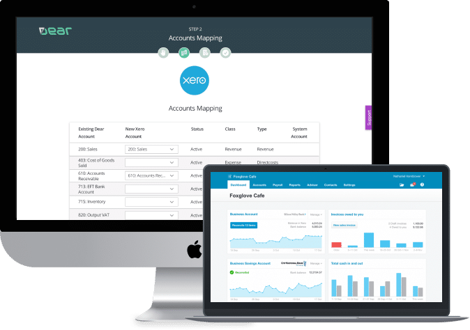 ear xero cloud accounting software