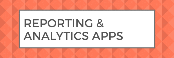 reporting analytics cloud accounting software apps