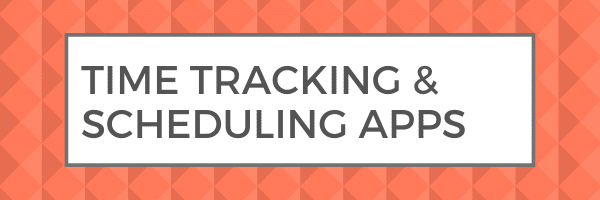 time tracking scheduling apps