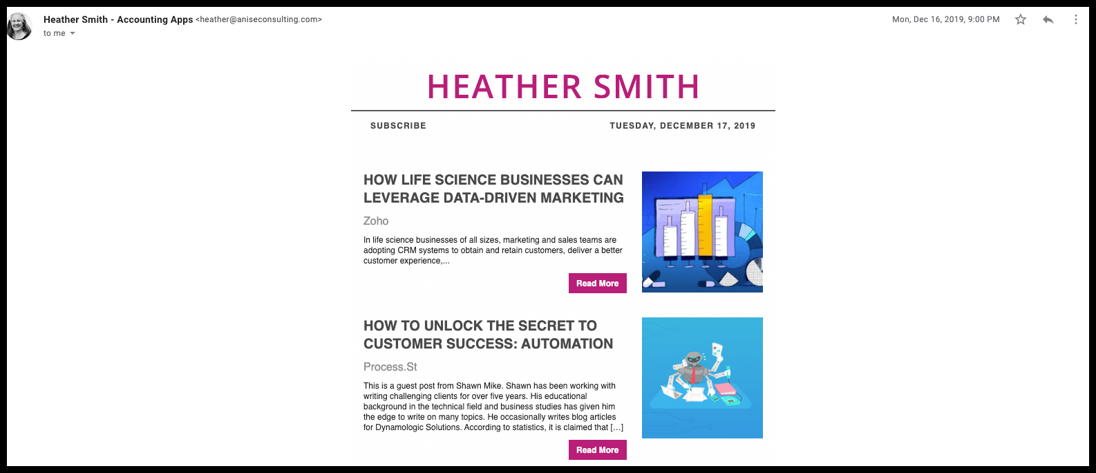 heather accounting news
