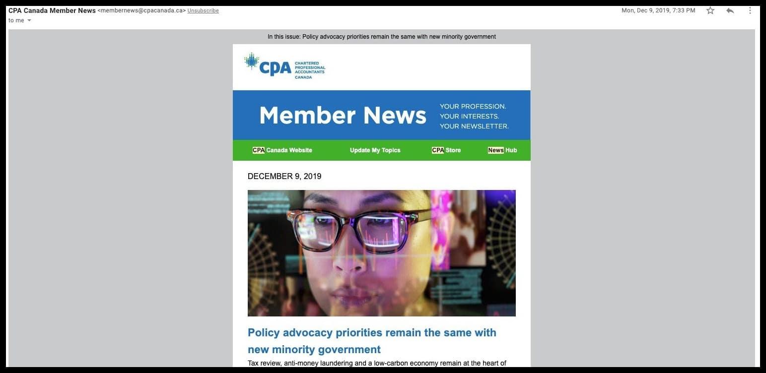 cpa member news