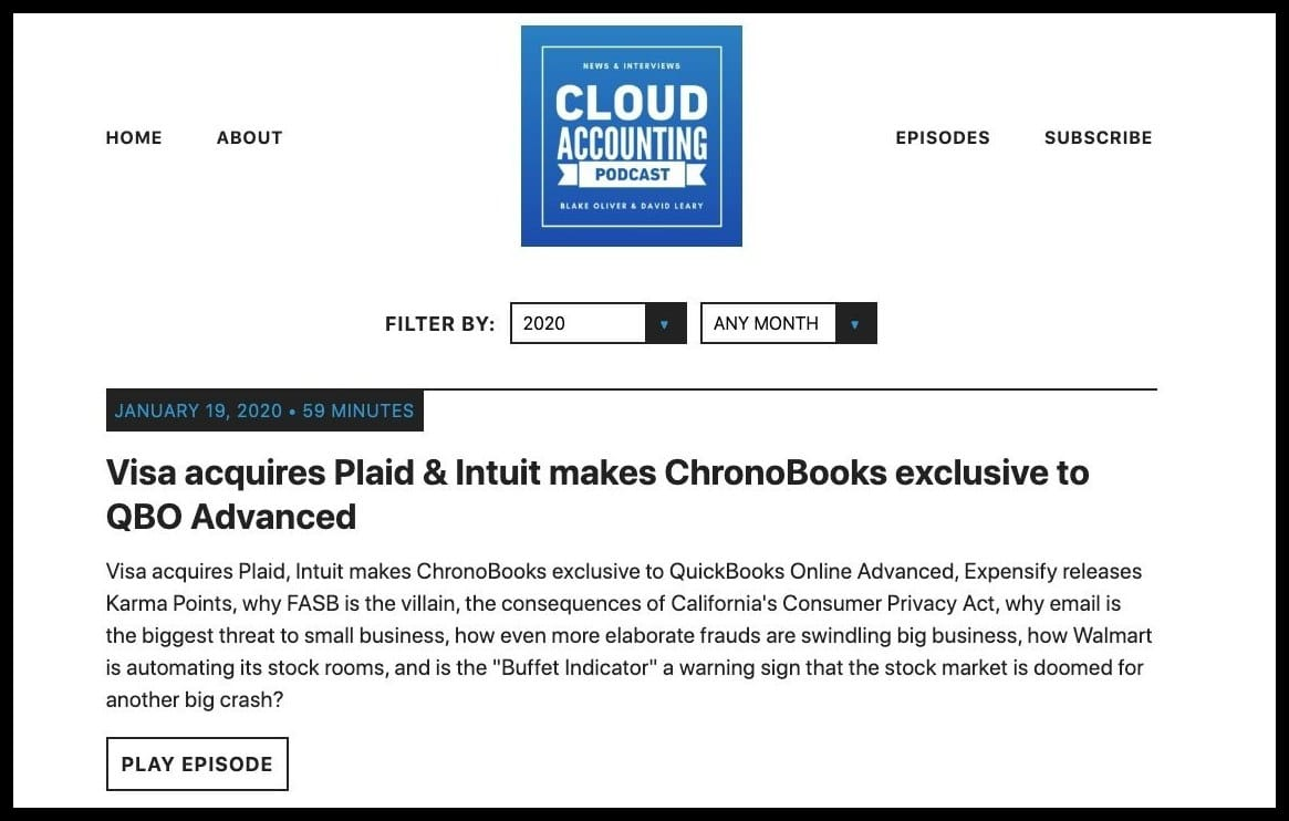 cloud accounting pod accounting news