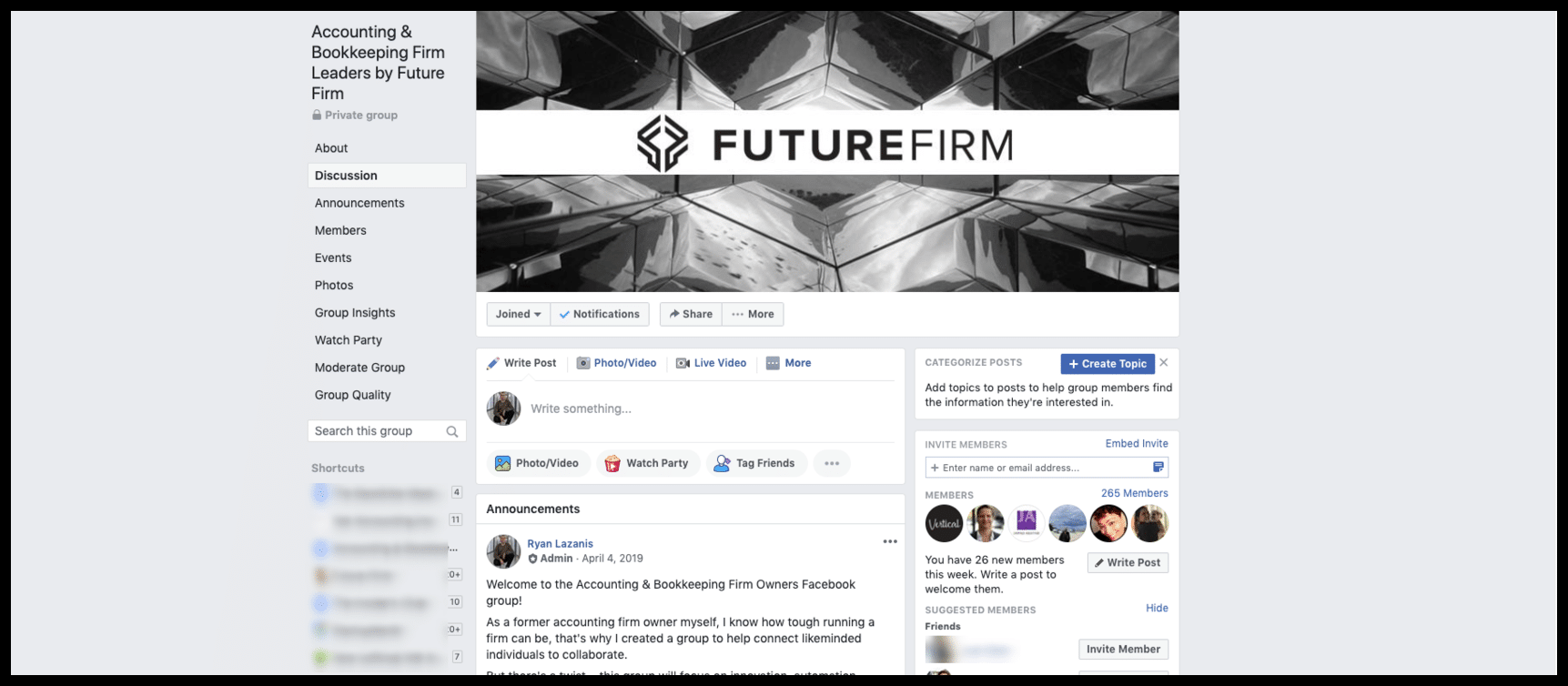 future firm facebook