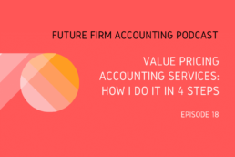 value pricing accounting services