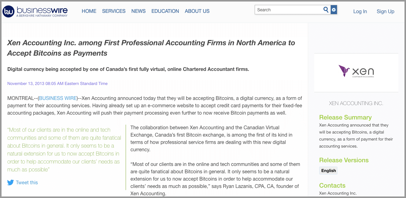 marketing for accountants viral press release