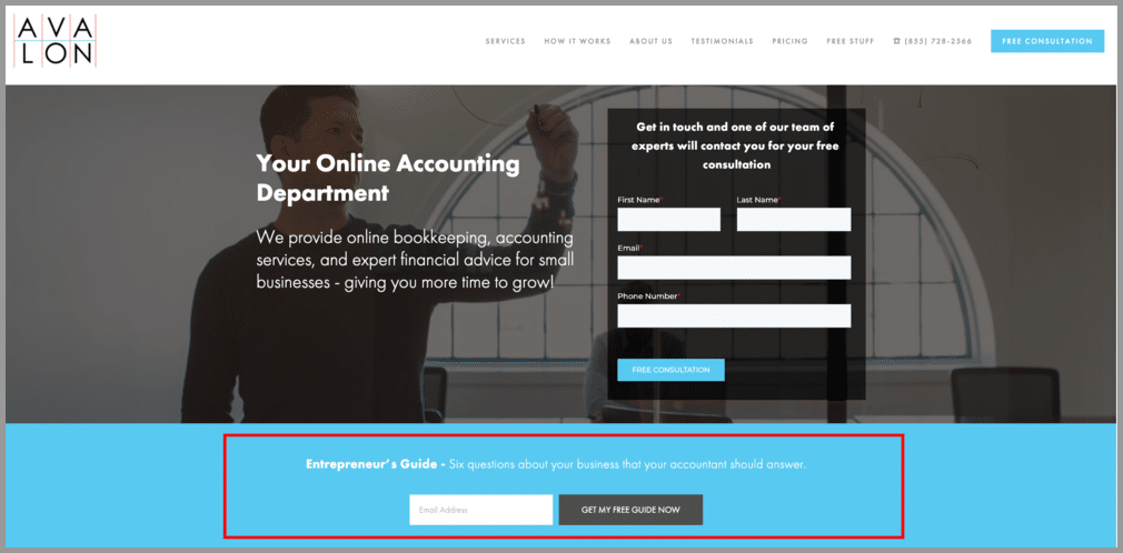 lead magnet marketing for accountants
