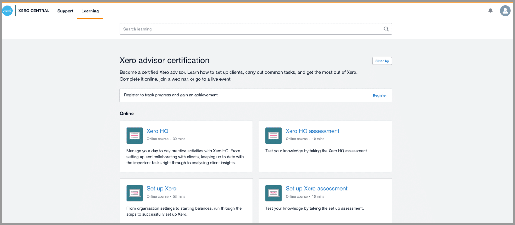 xero certification