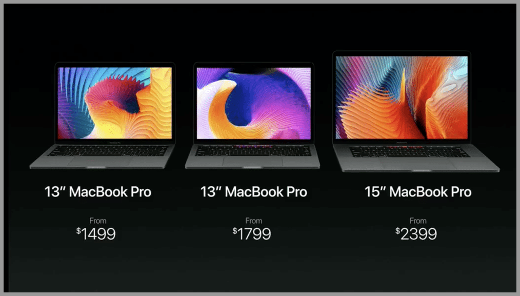 macbook three tiered pricing