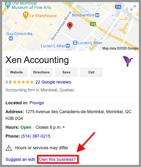 how to get accounting clients local seo 2