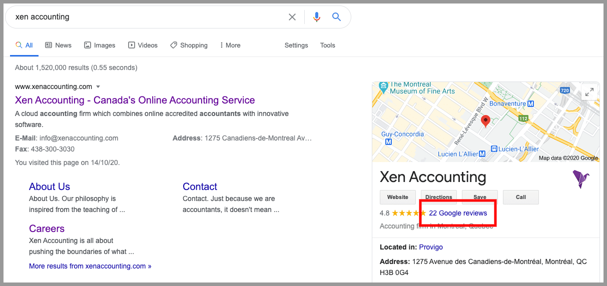 accounting firm google reviews