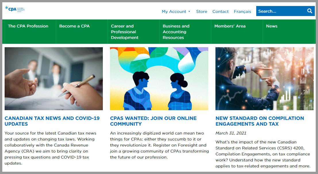 CPA Canada Accounting blogger